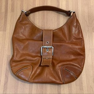 MICHAEL KORS VINTAGE Brown Leather Hobo Bag